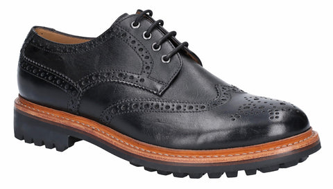Cotswold Quenington Commando Mens Rugged Sole Brogue Shoe