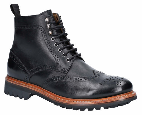 Cotswold Rissington Commando Mens Brogue Ankle Boot