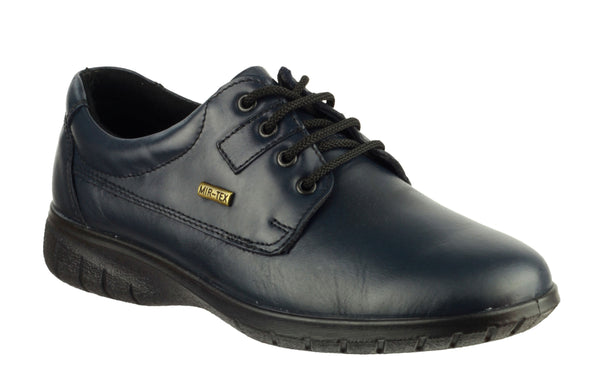 Cotswold Ruscombe Womens Waterproof Lace Up Shoe Navy