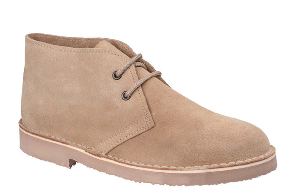 Cotswold Sahara Mens Large Size Suede Leather Desert Boot