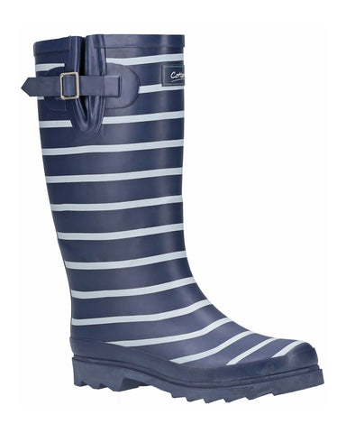 Cotswold Sailor Wellington Boot Navy