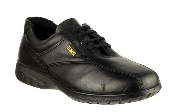 Cotswold Salford Womens Waterproof Lace Up Shoe Black