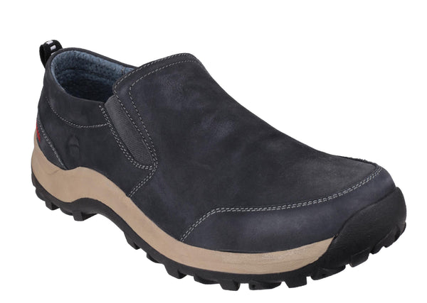 Cotswold Sheepscombe Mens Slip On Casual Shoe Navy