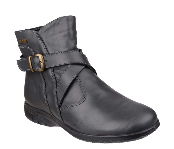 Cotswold Shipton Womens Waterproof Zip Up Ankle Boot Grey