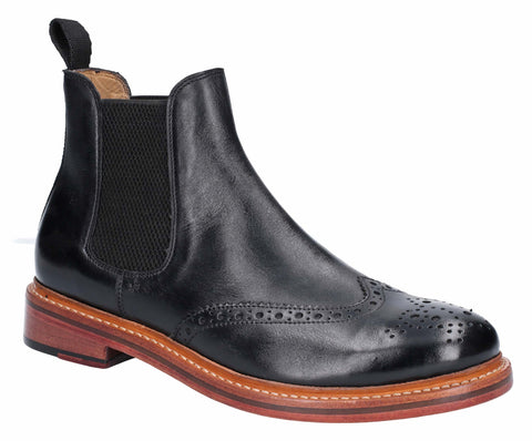 Cotswold Siddington Mens Brogue Chelsea Ankle Boot