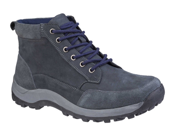 Cotswold Slad Lace Up Boot Navy