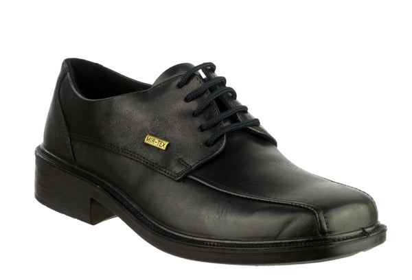 Cotswold Stonehouse Mens Waterproof Lace Up Shoe Black