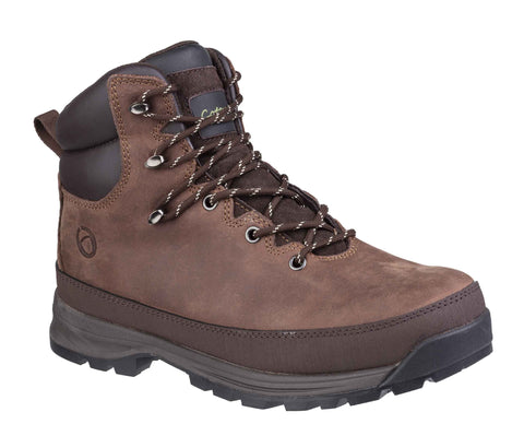 Cotswold Sudgrove Lace Up Boot Brown