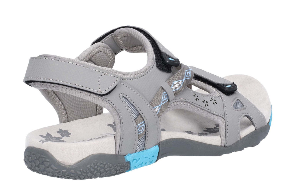 b2b8ace6f9e3 Cotswold Whichford Womens Touch Fastening Walking Sandal