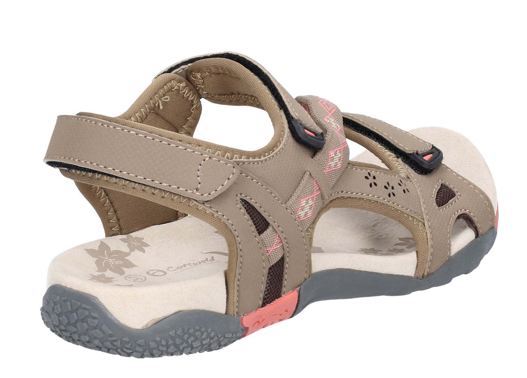 23c7afeabf49 Cotswold Whichford Womens Touch Fastening Walking Sandal