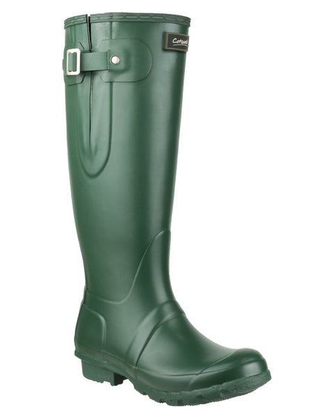 Cotswold Windsor Womens Adjustable PVC Wellington Green
