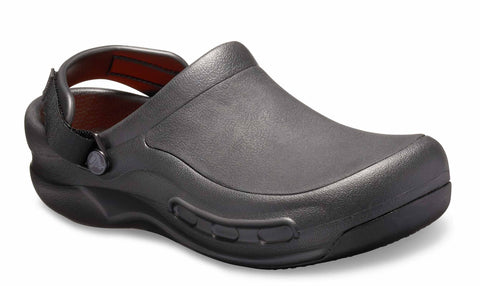Crocs Bistro Pro Literide 205669 Womens Slip On Work Clog