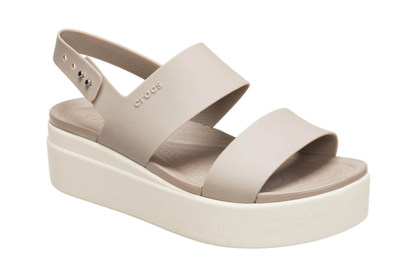 Crocs Brooklyn Womens Platform Wedge Sandal