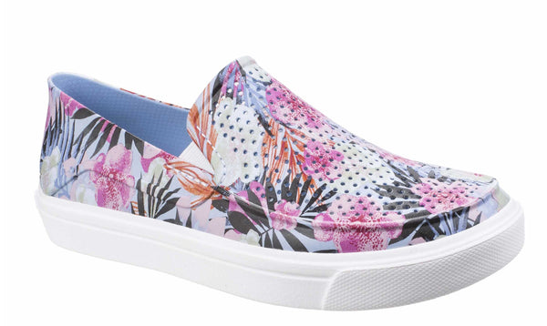 Crocs Citilane Roka Graphic 204623 Womens Slip On Casual Shoe Floral