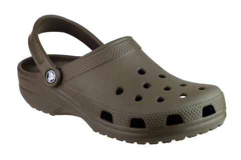 Crocs Classic 10001 Mens Clog Sandal Brown