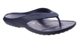 Crocs Classic Flip 202635 Mens Toe Post Sandal Navy
