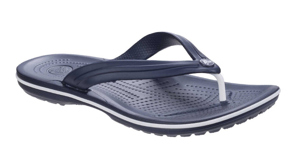 Crocs Crocband Flip 11033 Mens Toe Post Sandal Navy