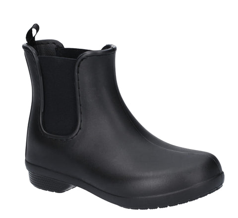 Crocs Freesail Chelsea Boot Black/Black