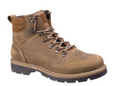 Darkwood Maple 7514 Mens Rugged Style Lace Up Ankle Boot Cinnamon