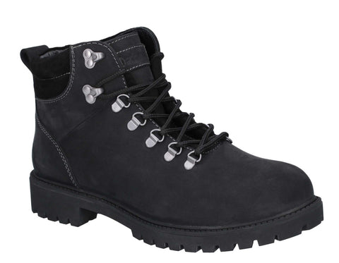 Darkwood Maple II Lace Up Boot Black