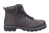 Darkwood Maple 7514 Mens Rugged Style Lace Up Ankle Boot