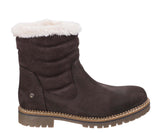 Darkwood Rosewood 7011 Womens Warm Lined Pull On Mid Calf Length Boot