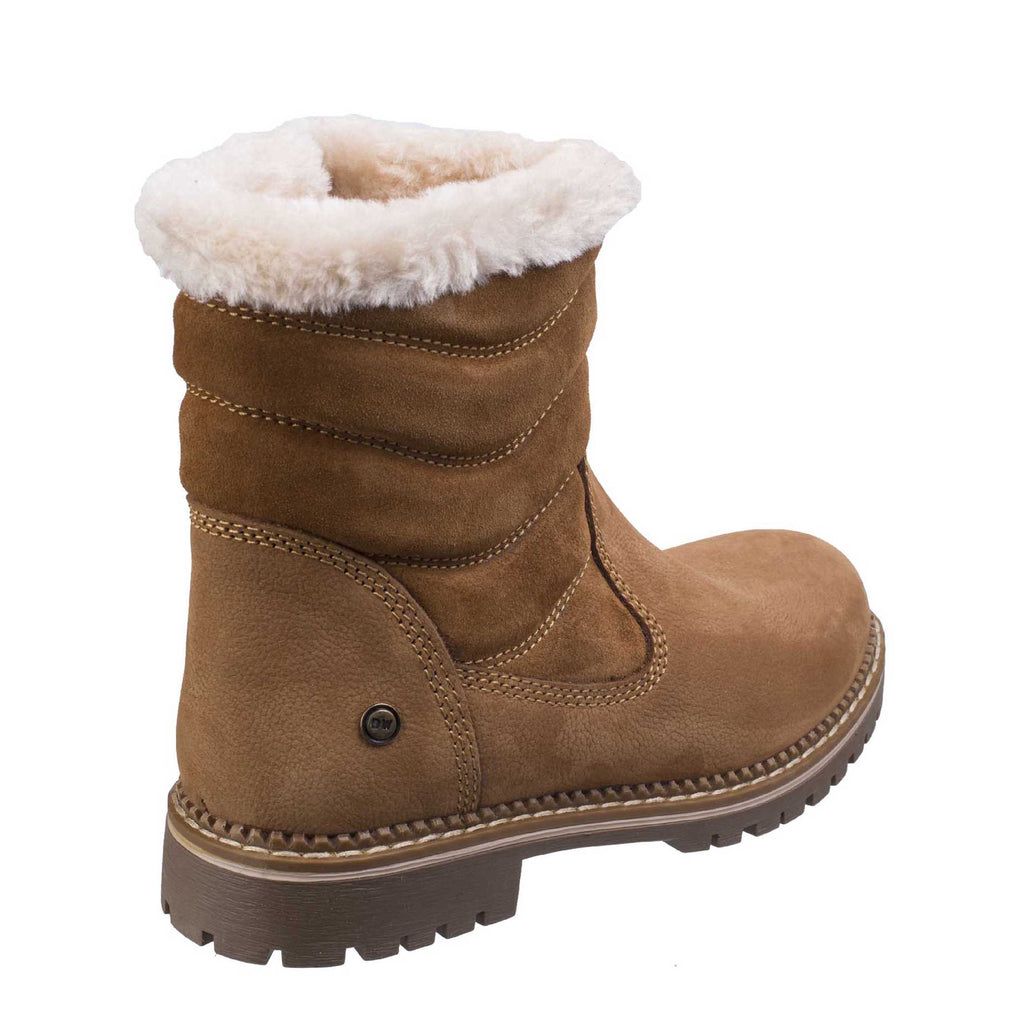 bb822d96679cc Darkwood Rosewood 7011 Womens Warm Lined Pull On Mid Calf Length Boot