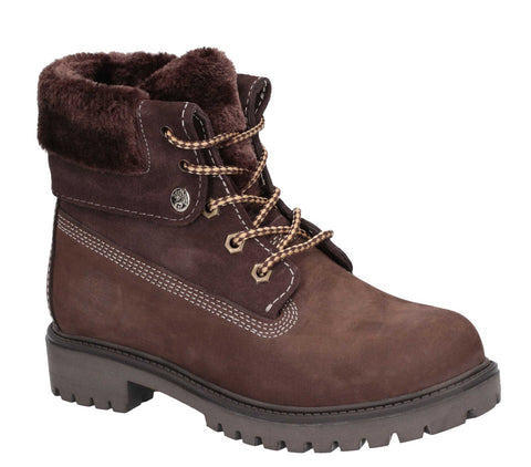Darkwood Walnut II Lace Up Boot Brown