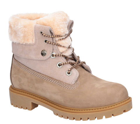 Darkwood Walnut II Lace Up Boot Sand