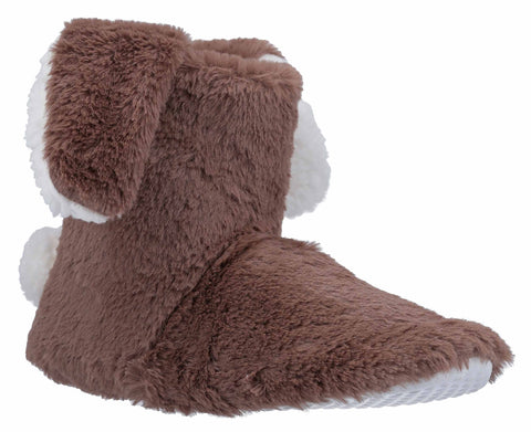 Divaz Flopsy Knitted Bootie Taupe