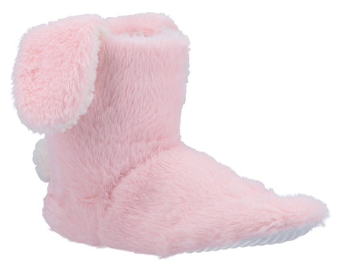 Divaz Flopsy Knitted Bootie Pink