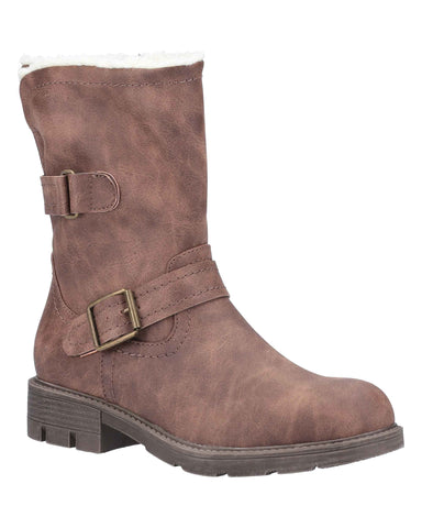 Divaz Whitney Womens Warm Lined Boots