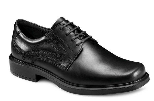 Ecco Helsinki Mens Plain Fronted Lace Up Formal Shoe 050144-00101 101 BLK