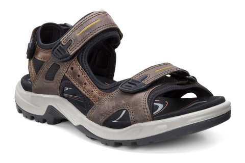 Ecco Offroad Mens Touch Fastening Casual Sandal 069564-56401 Espresso 56401