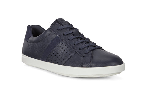 Ecco Leisure Womens Leather Lace Up Sneaker 205093-50595