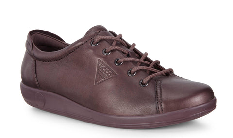 Ecco Soft 2.0 Womens Lace Up Casual Shoe 206503-51485