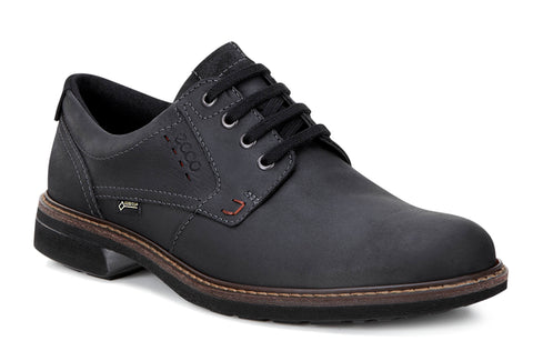 Ecco Turn GTX Mens Waterproof Lace Up Derby Shoe 510174-51052 Black 51052