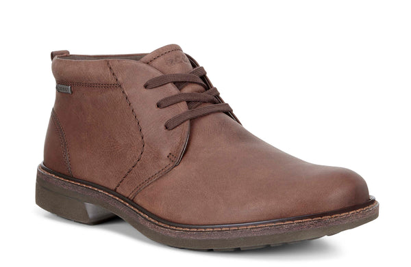 Ecco Turn GTX Mens Waterproof Leather Lace Up Chukka Boot 510224-02482