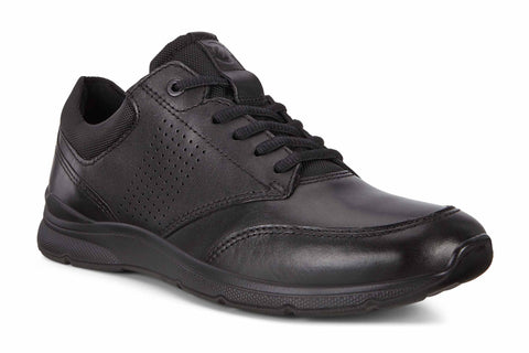 Ecco Irving Mens Leather Lace Up Trainer 511734-51052