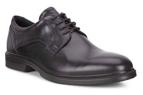 Ecco Lisbon Mens Plain Toe Lace Up Formal Shoe 622104-01001