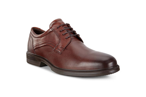 Ecco Lisbon Mens Plain Toe Lace Up Formal Shoe 622104-11053