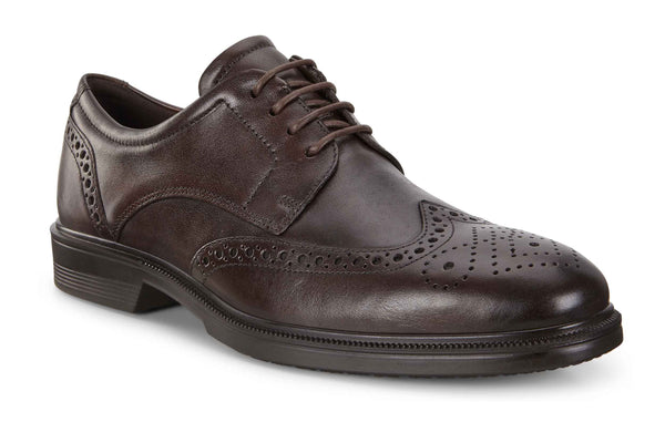 Ecco Lisbon Mens Brogue Detail Lace Up Formal Shoe 622164-01482