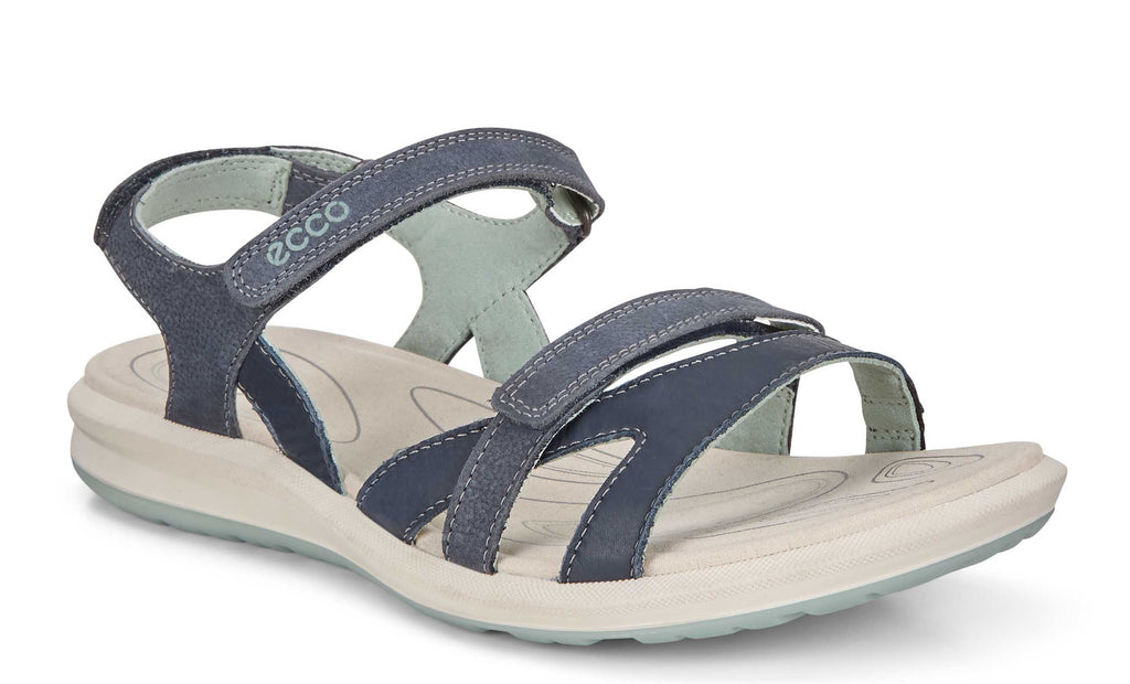 sports shoes 8e729 e44ca Ecco Cruise II Womens Touch Fastening Casual Sandal 821833-54668