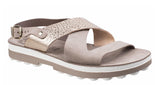 Fantasy Aureila Womens Slingback Summer Sandal Coffee/Rose