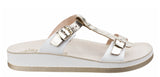 Fantasy Jessamine Womens Twin Buckle Slide Sandal