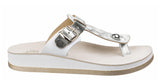 Fantasy Viola Leather Womens Toe Post Casual Sandal