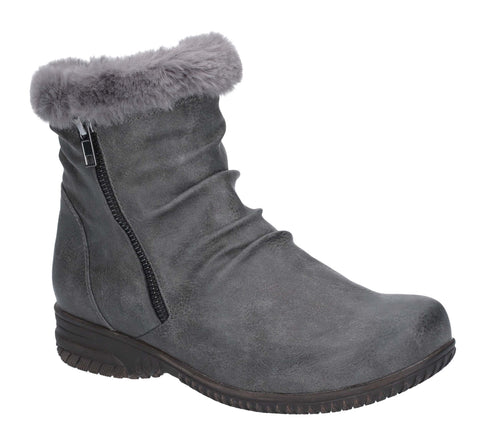 Fleet & Foster Aurora Zip Boot Grey