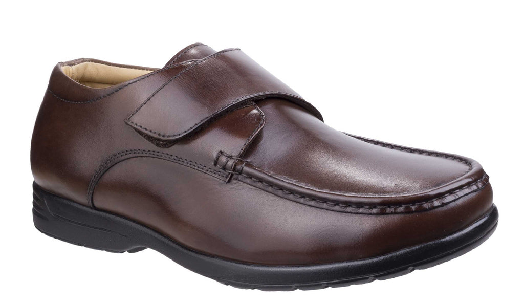 81d3dca916c35 Fleet & Foster Fred Mens Extra Wide Fit Touch Fastening Casual Shoe – Robin  Elt Shoes