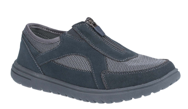 Fleet & Foster Josie Womens Zip Front Casual Shoe