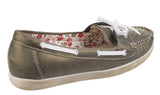 Fleet & Foster Melbeck Womens Slip On Boat Shoe